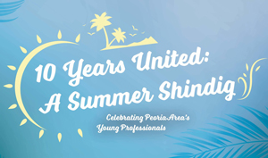 GENeration United is turning 10! Join us on Saturday, July 20 from 4:30 PM - 7:30 PM for a free event at Trailside Event Center celebrating the young professionals in our local community.