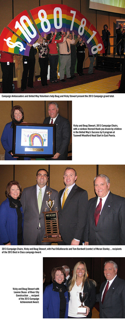 Heart of Illinois United Way Celebrates 2013 Campaign