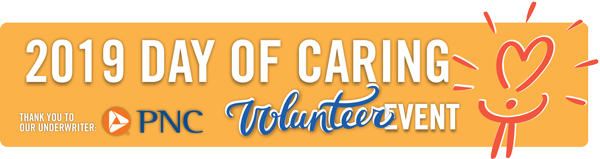Our Annual Day of Caring and our Back to School Food Drive will be Friday, September 6, 2019. Get your team and child-friendly foods ready!