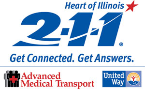 The Heart of Illinois 2-1-1 is available to provide assistance answer questions 24/7. Information for tornado relief resources is constantly being updated, so we encourage callers to check back frequently.