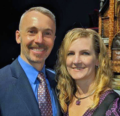 2021 Campaign Chairs, Brian and Erica Ray