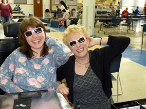 EP!C clients had it made in the shade on April 21 when Bard Optical stopped by to donate 250 pairs of sunglasses.
