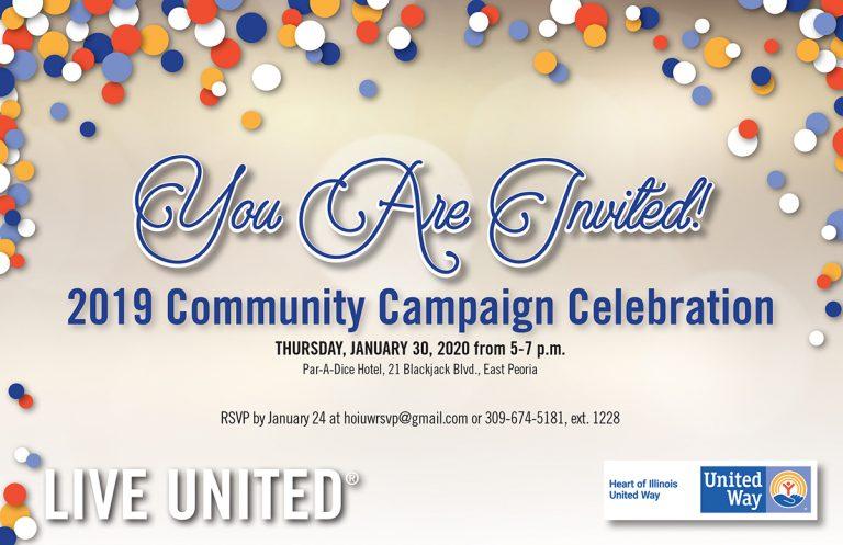 2019 Community Campaign Celebration
