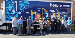 """The Heart of Illinois United Way and our Home for All Continuum of Care are partnering with Phoenix Community Development Services to provide a mobile hygiene unit called HOWIE (""""Hygiene. On. Wheels. Independence. Empowered."""") to support individuals experiencing homelessness in Peoria, Tazewell, Woodford, and Fulton counties."""