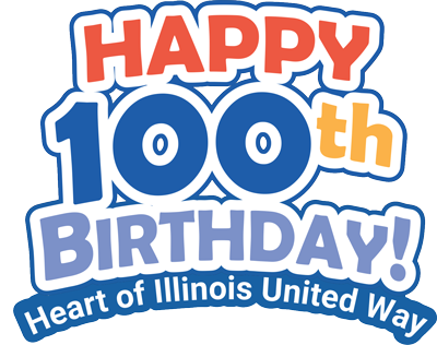 Heart of Illinois United Way is turning 100 on October 18, 2021 and we want to hear from you.