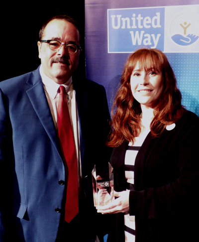 Karen Stecher was recently named our 2019 Hoot Gibson Award honoree for volunteerism to support the Heart of Illinois United Way!